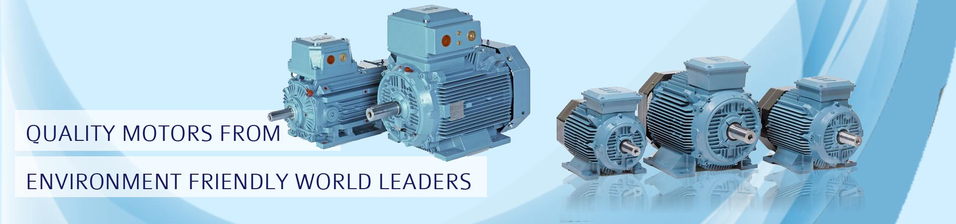 Precise Trading Company - major supplier and distributor of ABB make motors for automation.
